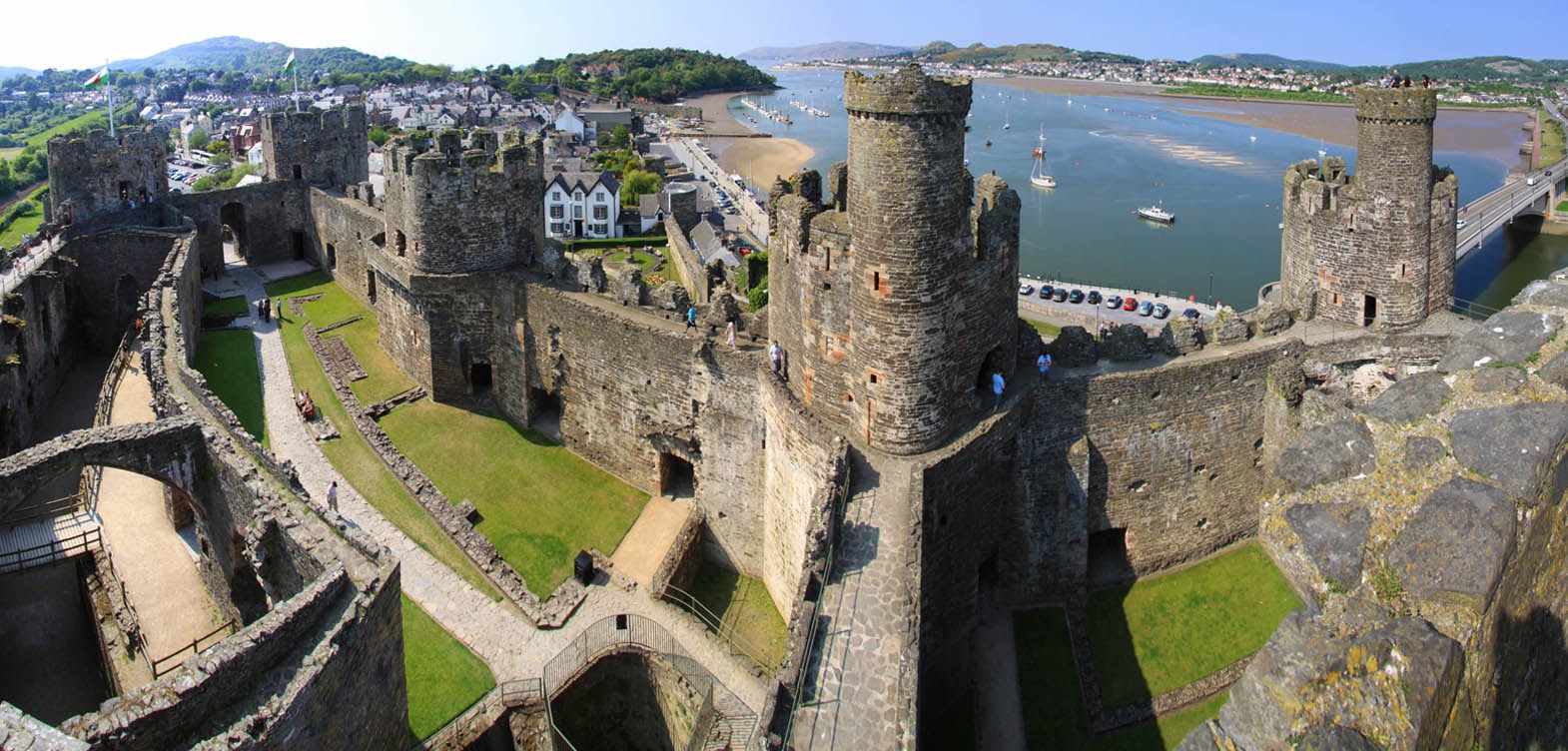 the importance of king edwards capturing of the conwy castle in 1243